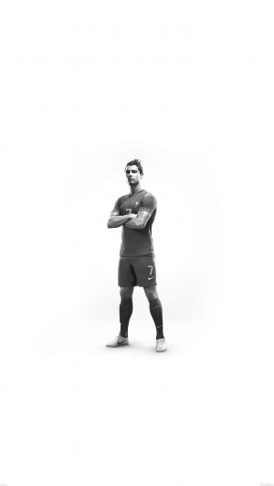 Christiano Ronaldo 7 Proud White iPhone 7 wallpaper