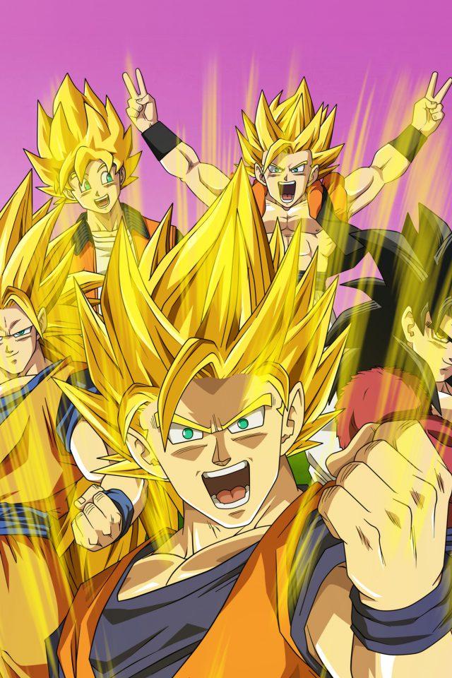 Dragonball Anime Art Iphone 7 Wallpaper Iphone7wallpapersco