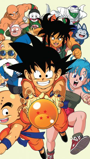 Dragonball Art Anime Japan iPhone 7 wallpaper