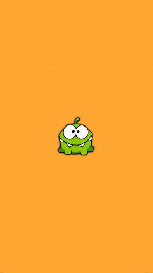 Game Art Cut The Rope Om Nom Cute Minimal iPhone 7 wallpaper