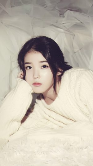 Iu Kpop Girl Cute iPhone 7 wallpaper