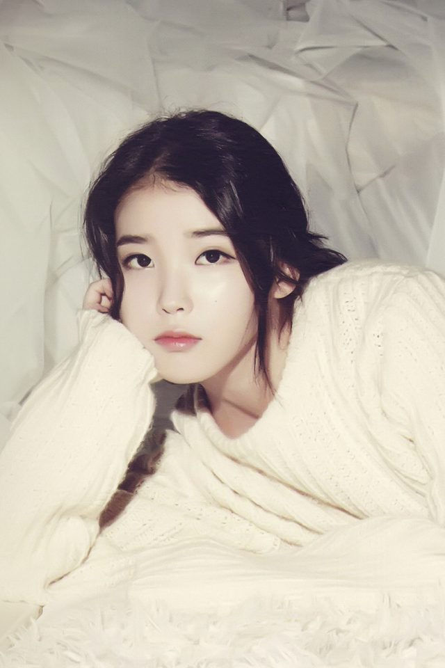 Iu Kpop Girl Cute iPhone wallpaper