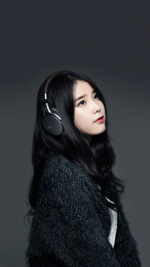 Iu Kpop Star Music Sony iPhone 7 wallpaper