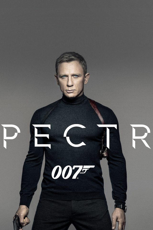 James Bond 007 Spectre Movie Film Poster iPhone wallpaper