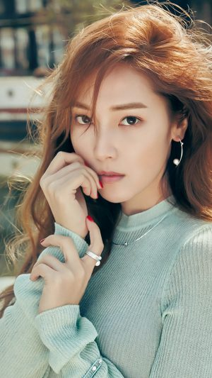 Jessica Kpop Girl Snsd Cute Woman iPhone 7 wallpaper