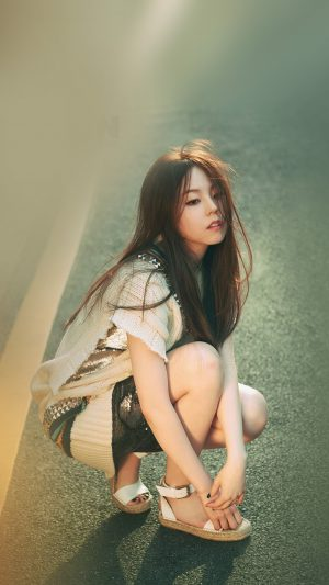 Kpop Sohee Street Girl Celebrity iPhone 7 wallpaper