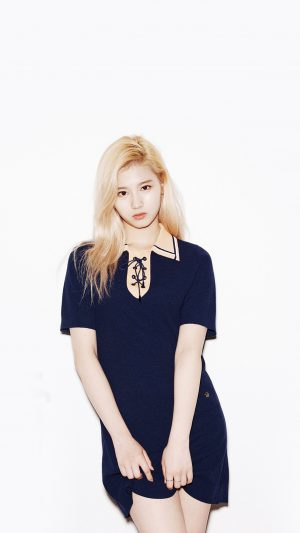 Kpop Twice Sana Girl Cute White iPhone 7 wallpaper