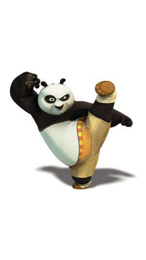 Kungfu Panda Dreamworks Animal Kick Cute Anime iPhone 7 wallpaper