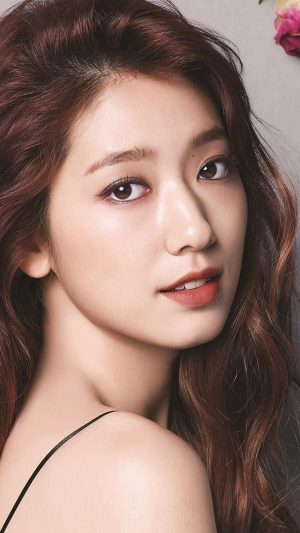 Shinhye Park Kpop Actress Celebrity Flower iPhone 7 wallpaper