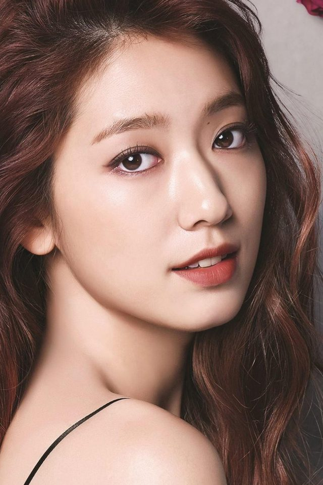Shinhye Park Kpop Actress Celebrity Flower iPhone wallpaper