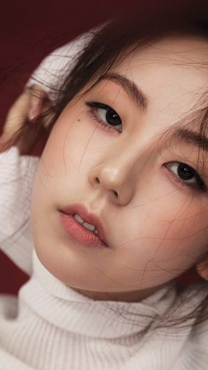 Sohee Kpop Girl Celebrity Face iPhone 7 wallpaper