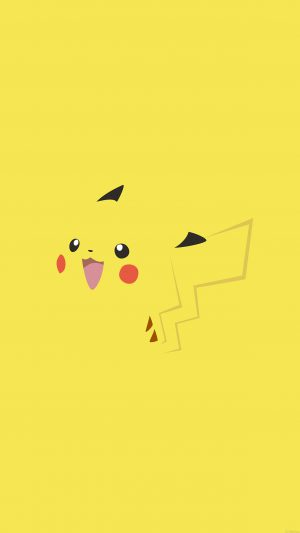 Wallpaper Pikachu Yellow Anime iPhone 7 wallpaper
