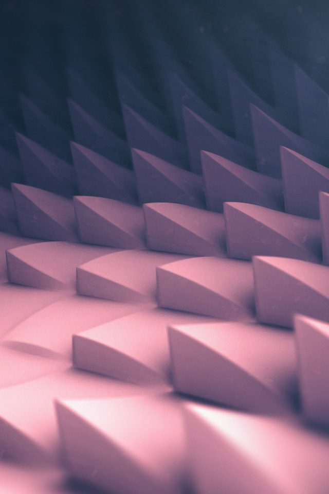 3d Art Pink Blue Digital Graphic Pattern iPhone wallpaper