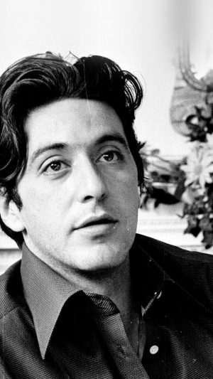 Al Pacino Young Boy Face Film Art iPhone 7 wallpaper