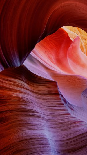 Antelope Canyon Mountain Rock Nature iPhone 7 wallpaper