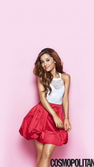 Ariana Grande Cosmopolitan Girl Music Face iPhone 7 wallpaper