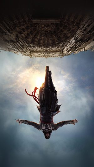 Assasins Creed Film Poster Illustration Art iPhone 7 wallpaper