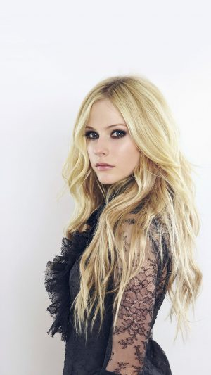 Avril Lavigne Canadian Singer Cute Music iPhone 7 wallpaper