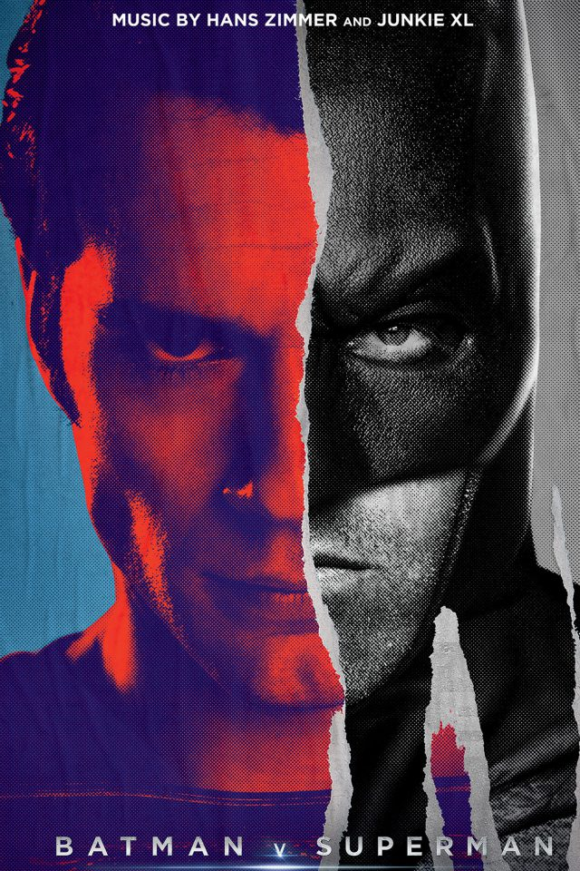 Batman Vs Superman Poster Art Film Comics iPhone wallpaper