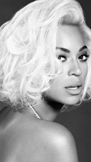 Beyonce Knowles Music Dark Bw Singer iPhone 7 wallpaper