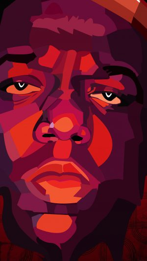 Biggie Smalls Notorious Big Rapper Music iPhone 7 wallpaper