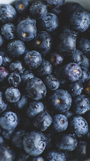 Blue Berry Healthy Fruit Eat Food Nature iPhone 7 wallpaper