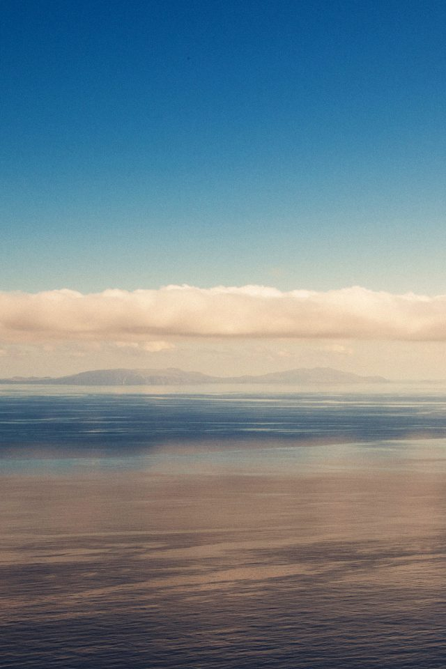 Blue Sky Nature Ocean View Iphone 7 Wallpaper Iphone7wallpapers Co