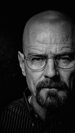 Breaking Bad Face Film Art Dark iPhone 7 wallpaper