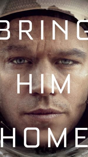 Bring Him Home Martian Film Matt Damon iPhone 7 wallpaper