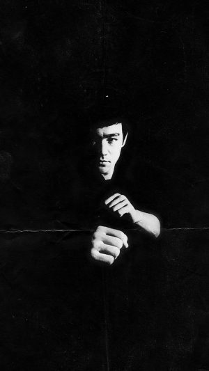 Bruce Lee Film Face iPhone 7 wallpaper