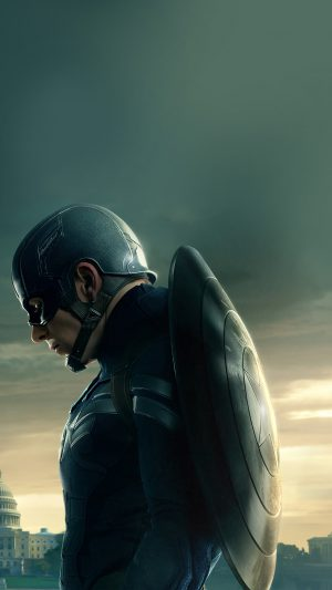 Captain America Sad Hero Film Marvel iPhone 7 wallpaper