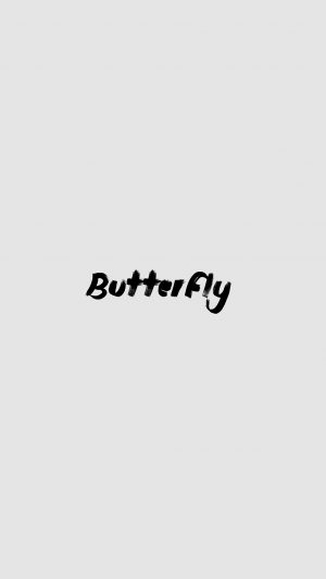 Christina Perri Logo Butterfly Music White iPhone 7 wallpaper