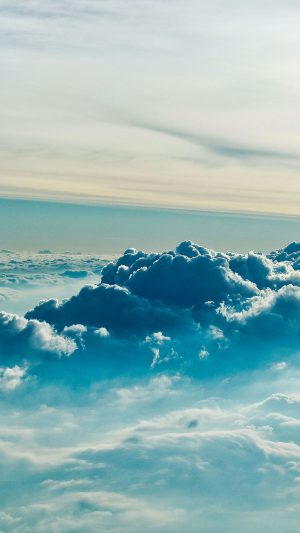Cloud Above 5 Sky Nature iPhone 7 wallpaper
