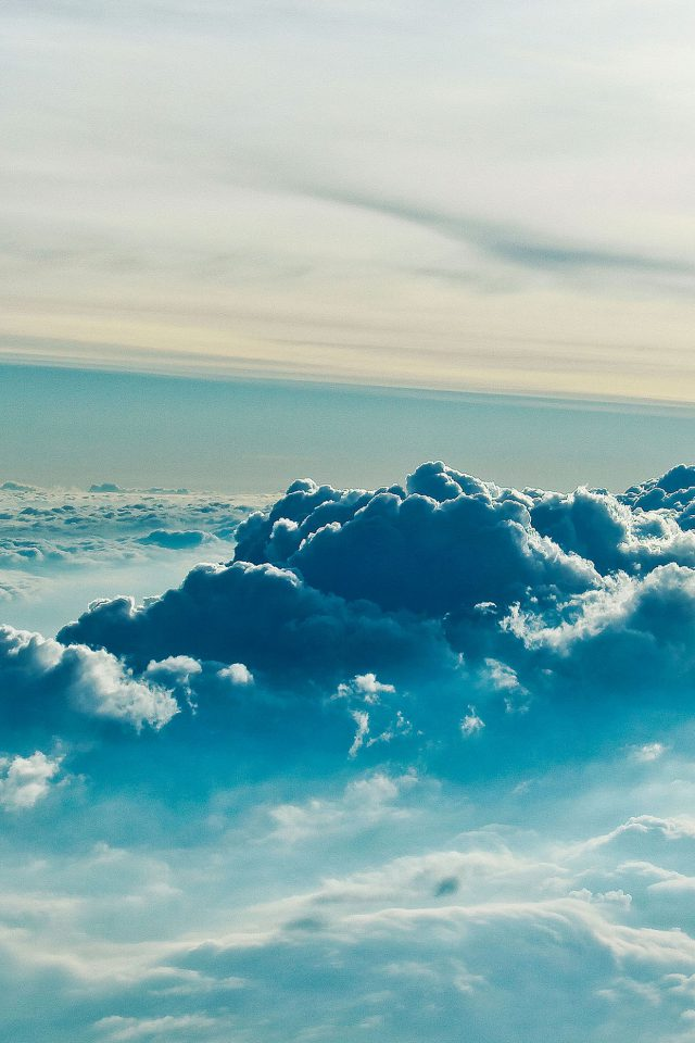 Cloud Above 5 Sky Nature iPhone wallpaper