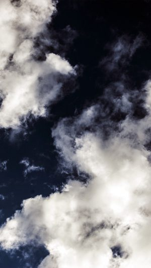 Cloud Dark Blue Sky Nature Summer iPhone 7 wallpaper