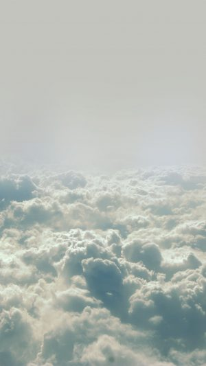 Cloud Flare Blue Sky Believe Fly Nature iPhone 7 wallpaper