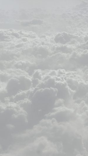 Cloud Flare White Sky Wanna Fly Nature iPhone 7 wallpaper