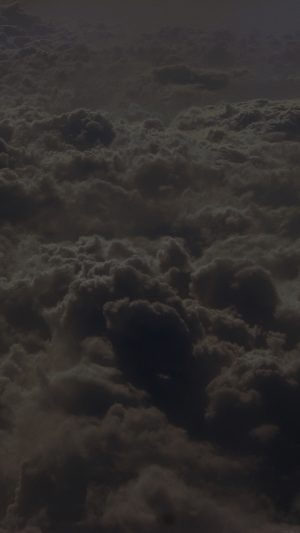 Cloud Sky Dark Nature Fly iPhone 7 wallpaper