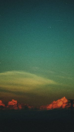 Cloud Vintage Sky Nature iPhone 7 wallpaper