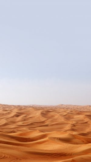 Desert Minimal Nature Sky Earth iPhone 7 wallpaper