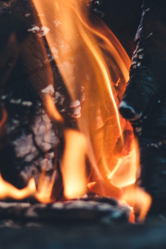 Fire Camp Thomas Lefebvre Nature iPhone wallpaper