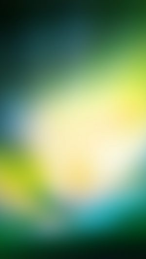 Green Os Background Gradation Blur iPhone 7 wallpaper