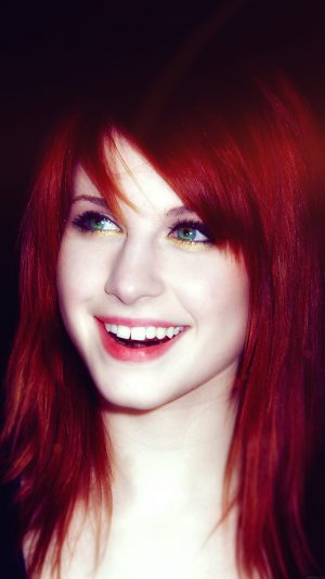 Hayley Williams Music Art Celebrity iPhone 7 wallpaper