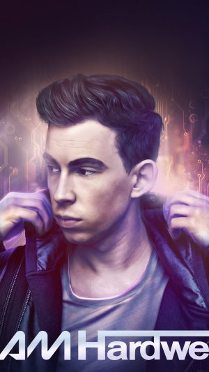 Iam Hardwell Electro House Dj Music iPhone 7 wallpaper