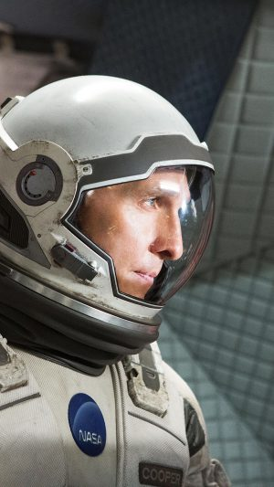 Interstellar Cooper Film Actor Matthew Mcconaughey iPhone 7 wallpaper
