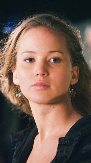 Jennifer Lawrence Natural Film Girl Face iPhone 7 wallpaper