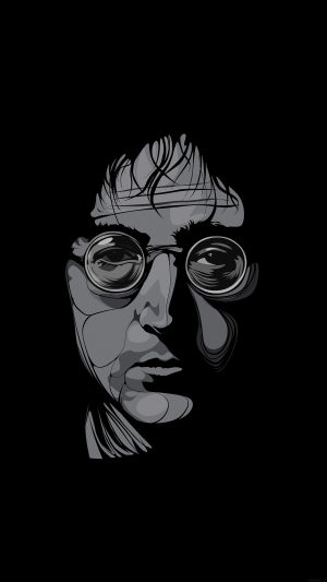 John Lennon Illust Art Music iPhone 7 wallpaper