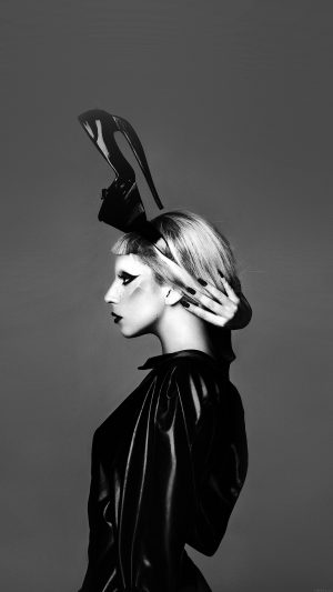 Lady Gaga Dark Mariano Vivanco Photo Music iPhone 7 wallpaper