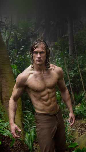 Legend Of Tarzan Film Art iPhone 7 wallpaper