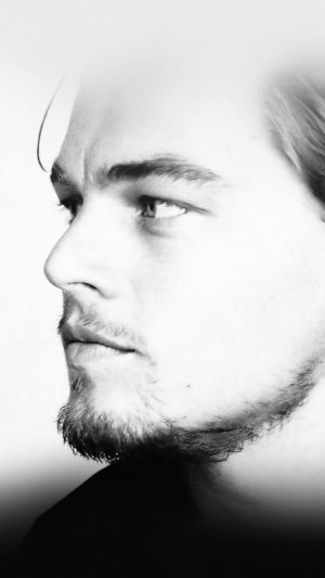 Leonardo Dicaprio Face Film Star iPhone 7 wallpaper